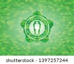 dead man in his coffin icon... | Shutterstock .eps vector #1397257244