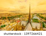panoramic aerial view of the... | Shutterstock . vector #1397266421