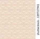 seamless ornamental background...   Shutterstock .eps vector #139727941