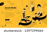 black and yellow flat design...   Shutterstock .eps vector #1397299064