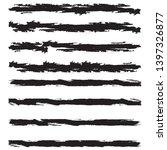 grunge paint roller . vector... | Shutterstock .eps vector #1397326877