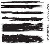 grunge paint roller . vector... | Shutterstock .eps vector #1397326901