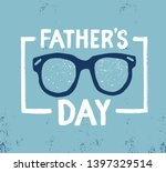 father's day inscription... | Shutterstock . vector #1397329514