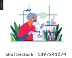 medical tests template.... | Shutterstock .eps vector #1397341274