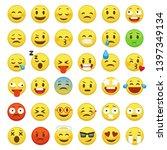 Emoji Face Set. Character...