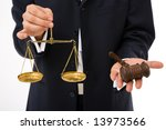 legal concept with businessman... | Shutterstock . vector #13973566