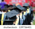 back of graduates during... | Shutterstock . vector #139736401