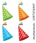 party hat vector design...   Shutterstock .eps vector #1397376947