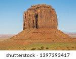 Utah/Arizona - USA: Monument Valley National Park.  Merrick Butte.