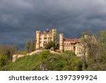 hohenschwangau castle in... | Shutterstock . vector #1397399924
