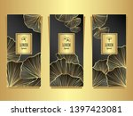 set template for package or... | Shutterstock .eps vector #1397423081