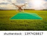 uav drone multicopter flying...   Shutterstock . vector #1397428817