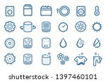 working system of washing...   Shutterstock .eps vector #1397460101