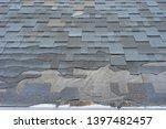lose up view of bitumen...   Shutterstock . vector #1397482457