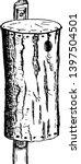 chestnut bark nesting house... | Shutterstock .eps vector #1397504501