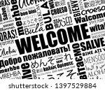 welcome word cloud in different ...   Shutterstock .eps vector #1397529884