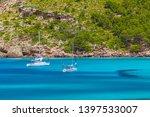 cala algaiarens  ove with... | Shutterstock . vector #1397533007