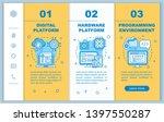 digital platform onboarding... | Shutterstock .eps vector #1397550287