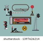 scale model railway hobby items ... | Shutterstock .eps vector #1397626214