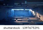 3d render  daylight inside... | Shutterstock . vector #1397675291