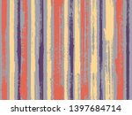watercolor strips seamless... | Shutterstock .eps vector #1397684714