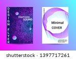 music cover design. a set of...   Shutterstock .eps vector #1397717261