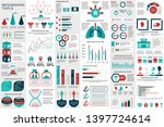 medical infographic elements... | Shutterstock .eps vector #1397724614