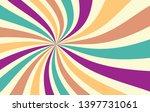 retro starburst or sunburst... | Shutterstock .eps vector #1397731061
