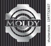 moldy silver shiny emblem .... | Shutterstock .eps vector #1397732837