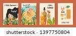 vector templates with fun... | Shutterstock .eps vector #1397750804