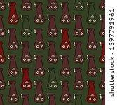 seamless geometrical pattern...   Shutterstock .eps vector #1397791961