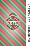 urgency christmas colors style... | Shutterstock .eps vector #1397826827