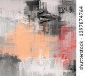 abstract background. 2d... | Shutterstock . vector #1397874764