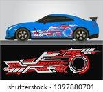 vinyls sticker decals for body... | Shutterstock .eps vector #1397880701