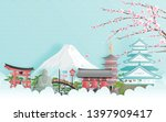 travel advertising with travel... | Shutterstock .eps vector #1397909417
