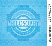 philosophy light blue water...   Shutterstock .eps vector #1397961707