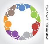 communication together concept | Shutterstock .eps vector #139796911