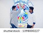 we are millionaires  very... | Shutterstock . vector #1398000227