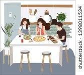 family character design in...   Shutterstock .eps vector #1398011534