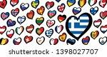 song festival euro songfestival ... | Shutterstock .eps vector #1398027707