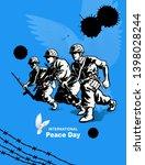 international peace day ...   Shutterstock .eps vector #1398028244