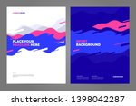template design with dynamic... | Shutterstock .eps vector #1398042287