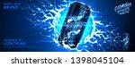 energy drink ads background.... | Shutterstock .eps vector #1398045104