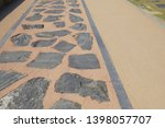 a design of pathway pattern at... | Shutterstock . vector #1398057707