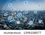 smart factory concept. internet ... | Shutterstock . vector #1398108077
