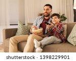family  childhood  fatherhood ... | Shutterstock . vector #1398229901