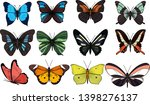 vector isolated set of... | Shutterstock .eps vector #1398276137