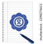 business ribbon icon pen draw.... | Shutterstock .eps vector #1398276611