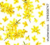 golden bell seamless pattern... | Shutterstock .eps vector #1398308747