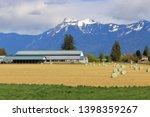 Landscape View Of A Farm...